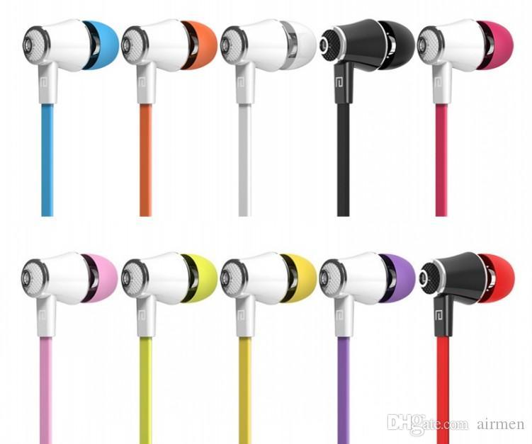 Langsdom JM21 마이크 이어폰 있음 10 색 헤드셋 아이폰 용 Hifi 이어폰베이스 이어폰 삼성 전자 LG 전화 소매 패키지