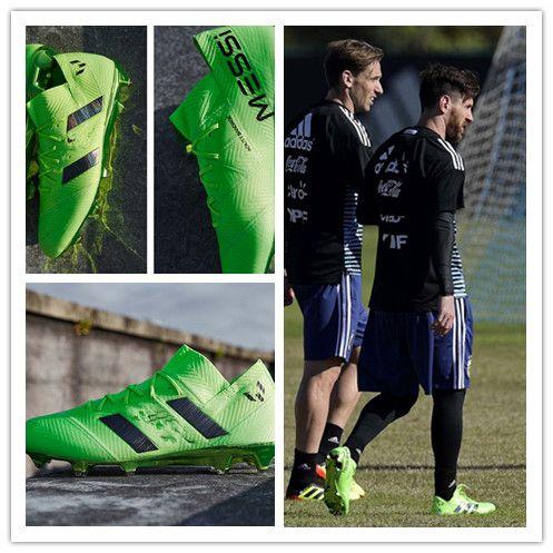 b627cc1c97 Messi Top Quality Nemeziz 17+ 360 Agility FG Football Shoes Men Firm Ground Nemeziz  Messi 17.1 Football Boots Outdoor Soccer Shoes UK 2019 From Vapormax008
