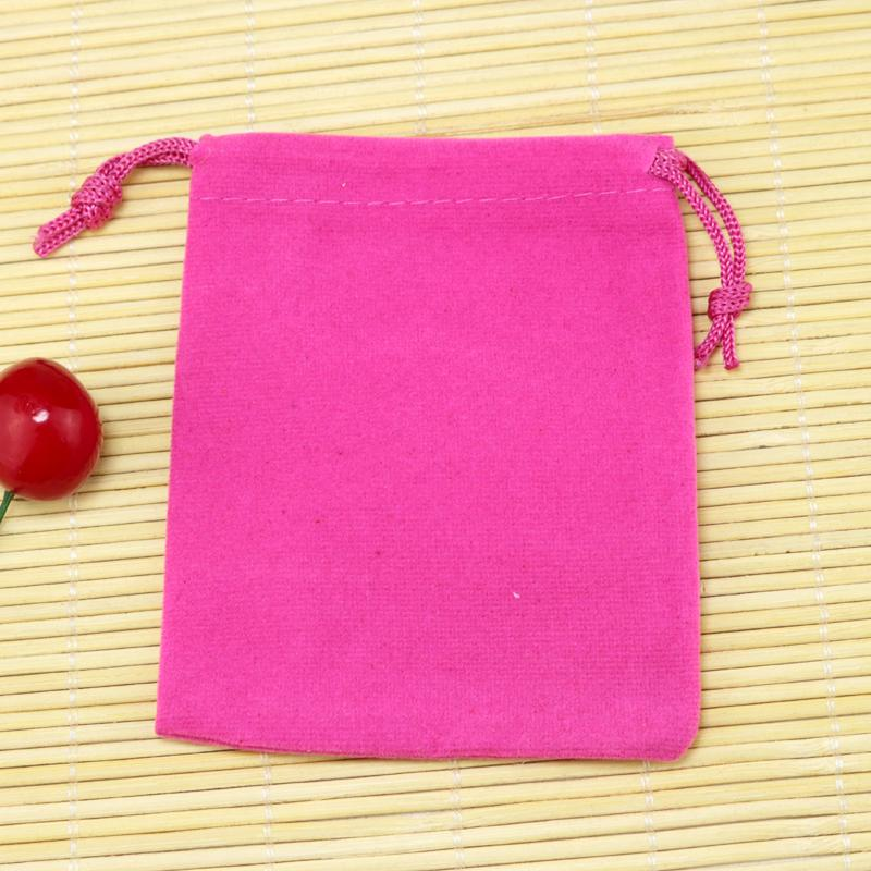 Small Velvet Bag 5x7 7x9 9x12cm Charms Earrings Jewelry Packaging Bags Wedding Decoration Velvet Pouch Gift Bags