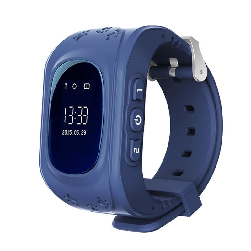 598063ccee09 Relojes Smartwatch El Más Nuevo Q50 Kids Reloj De Pulsera Para Niños Seguro Para  Niños Pista De GPS Reloj Inteligente SOS Localizador De Localización De ...