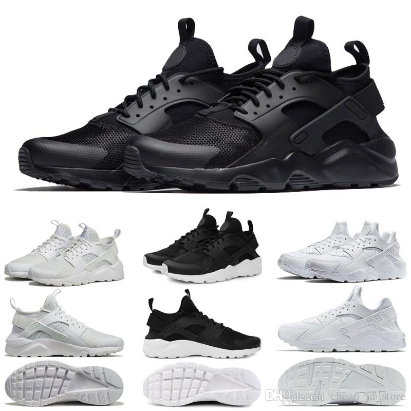 a6ad3ef7dcfb New Huarache Running Shoes 1.0 4.0 Mens Women Triple White Black Red Grey  Love Hate Pack Trainers Huaraches Sports Sneaker 36 45 Shoes Sports Spikes  Shoes ...