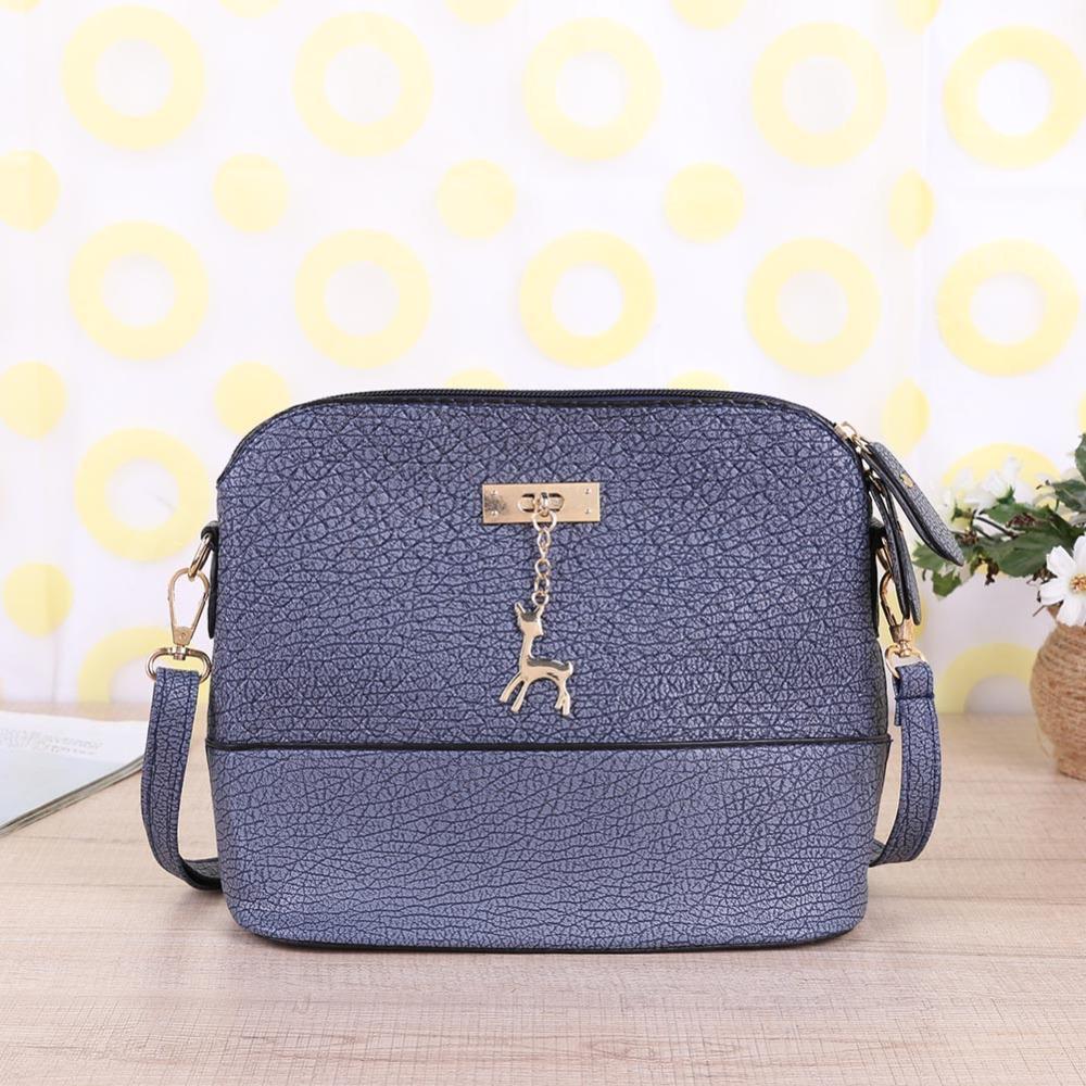 398f32742518 2019 Fashion 2018 Women Messenger Bags Fashion Mini Bag With Deer Toy Shell  Shape Bag Women Shoulder Crossbody Bag Handbag Bolsa Feminina Designer  Handbags ...