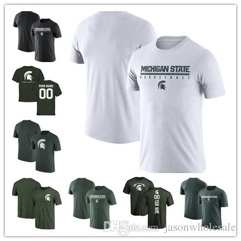 a45b4d9f1 Mens Michigan State Spartans Fanatics Branded Football Personalized ...