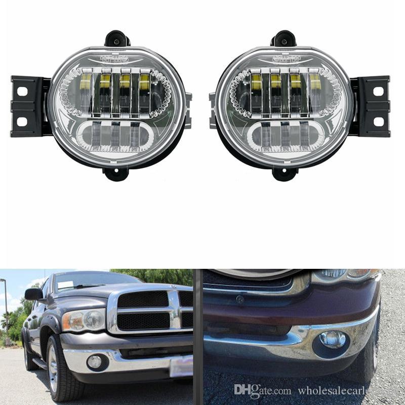 2018 New Bumper Driving Led Fog Light For 2002 2008 Dodge Ram 1500 2500 Durango Lamp Bulb Replacement From Wholesalecarledlight