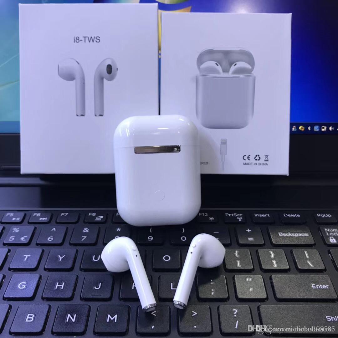 Магазин Наушников I8 TWS Против I7s I8x Afans Ifans I7 Наушники Ture  Беспроводной Bluetooth Наушники Мини Близнецы Наушники Гарнитура Для IPhone  X 8 Samsung ... 1e53019015770
