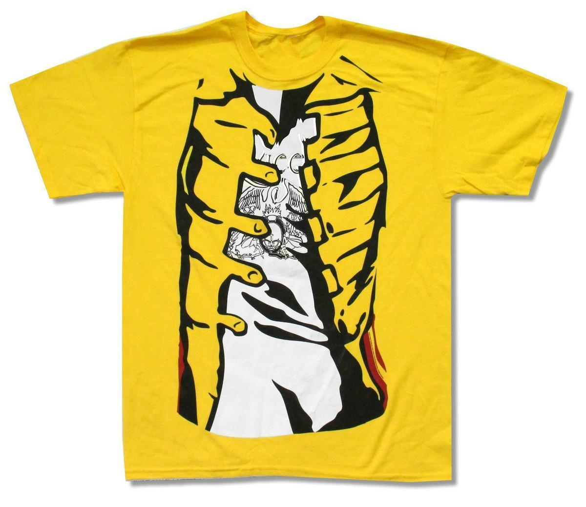 59a5676afe3aa Compre Reina Freddie s Jacket Camiseta Amarillo Nuevo Oficial Mercury  Adulto Camiseta De Algodón Moda Envío Gratis Funny T Shirt Hombres A  11.92  Del ...