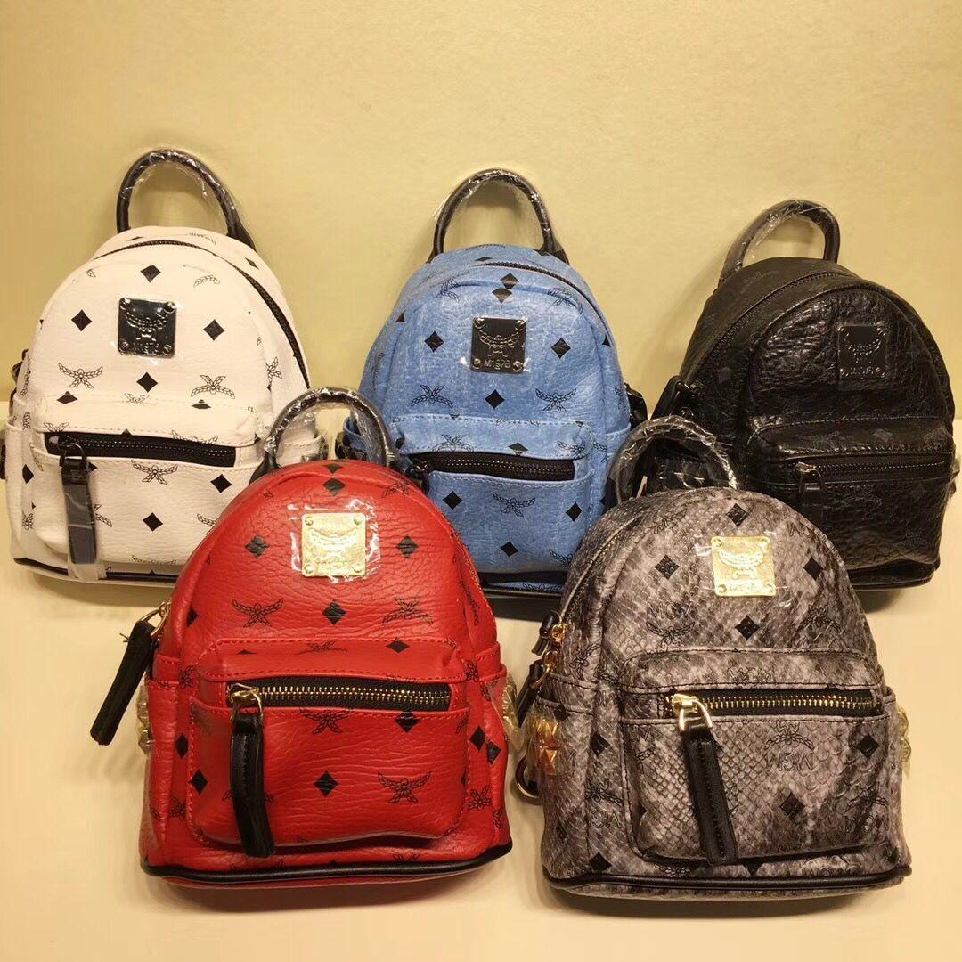 2018 Top Quality New Brand Designer Stark Backpack Studded Visetos Punk Women  Men Backpack School Bag Duffel Bags Kids Backpacks Dakine Backpacks From ... 1168bc602f6cd