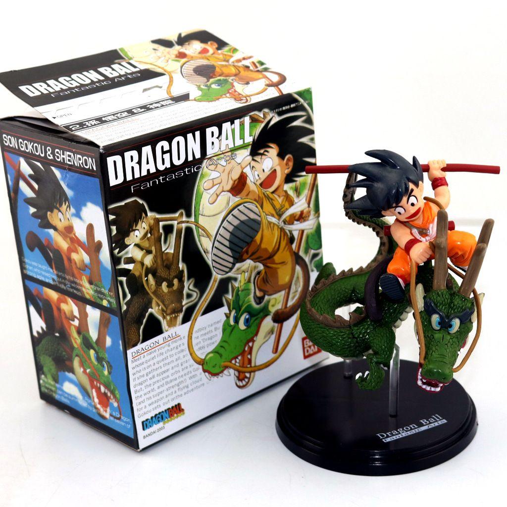 2019 Dragon Ball Action Figures Z Super Saiyan Goku With Dragon