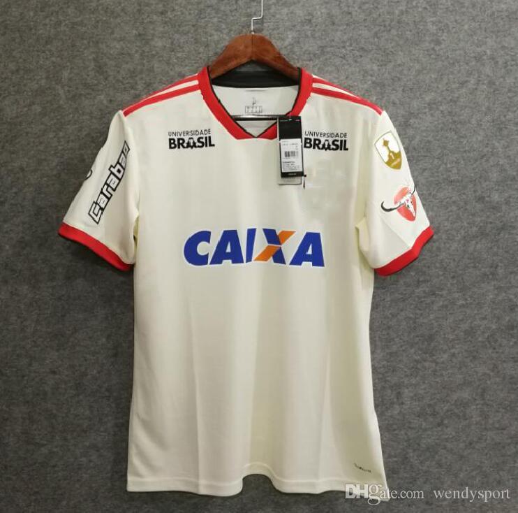 4f9416f58 18 19 Flamengo Away Soccer Jersey DIEGO GUERRERO Top Quality Custom ...