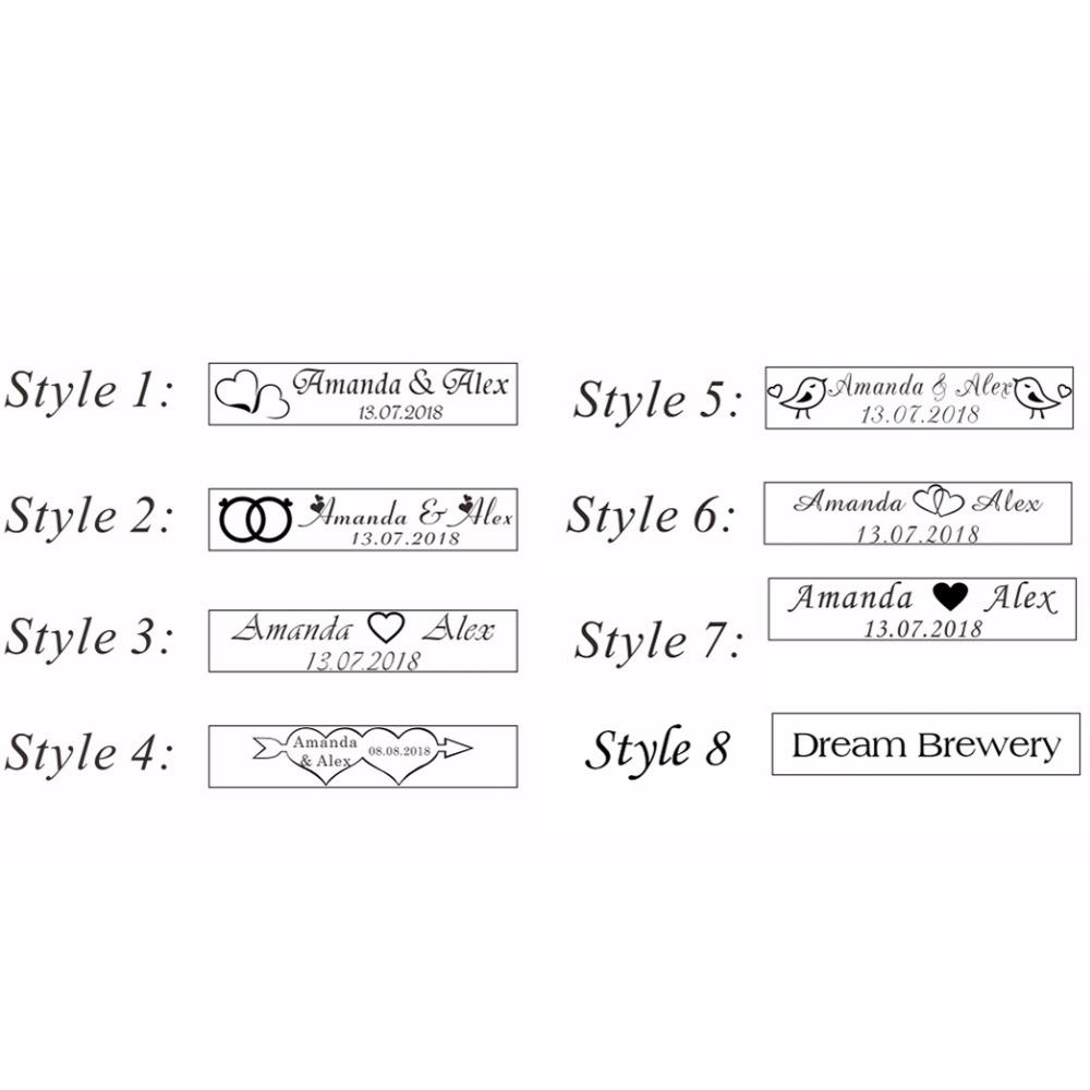 Personalized Engraved Bottle Opener Key Chain Wedding Favors Brewery ...