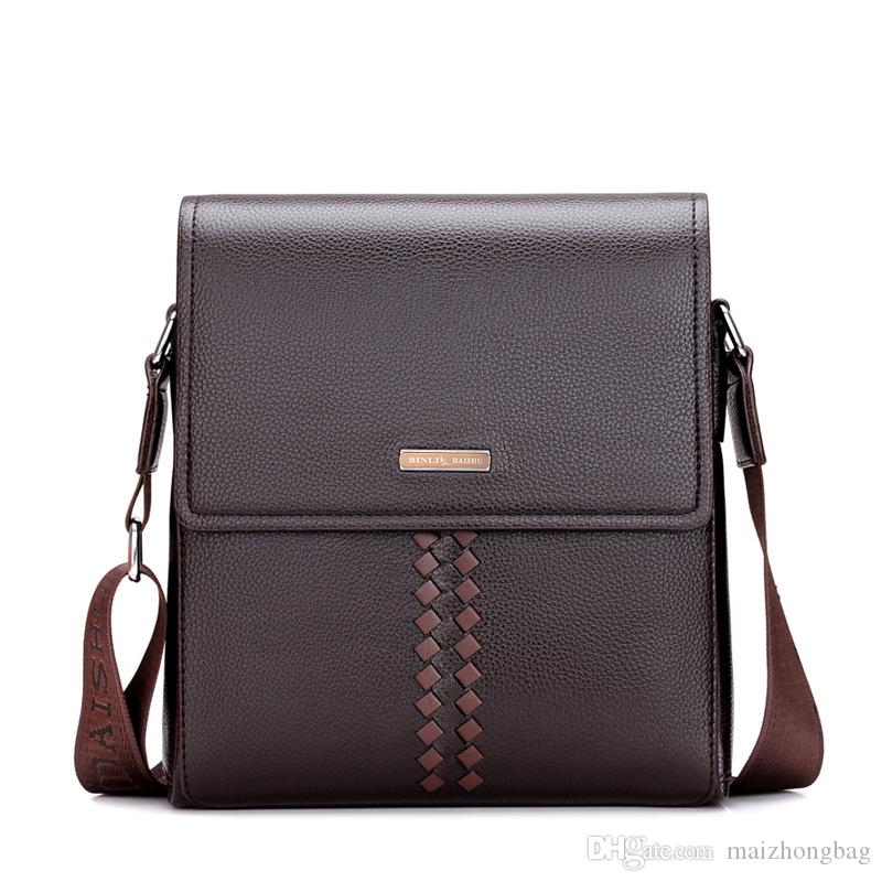 Fashion Briefcases Bag For Men 2018 New Arrival Luxury Designer Handbags  For Men High Quality Leather Business Bag Filson Briefcase Work Bags From  ... 2f5375bbd2