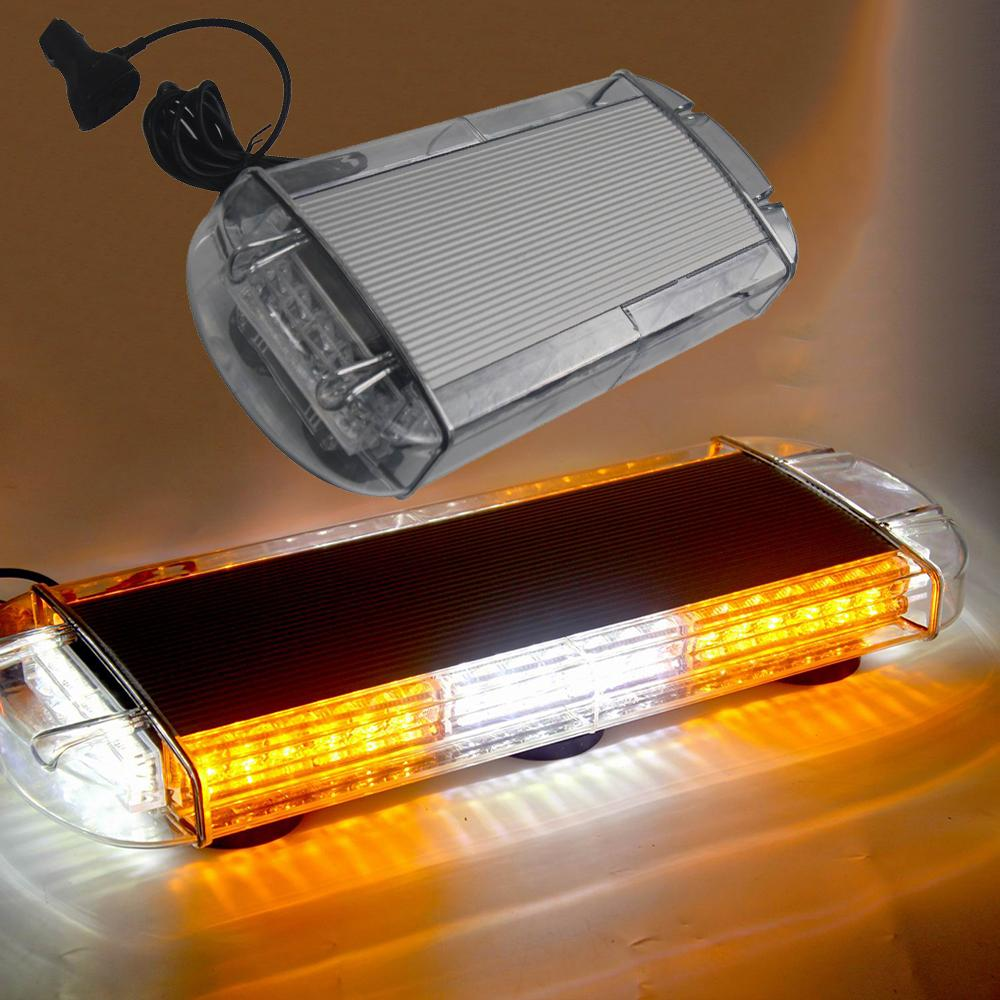 Strobe Lights For Trucks >> Hehemm 48w Led Car Roof Strobe Lamp Magnetic Mounted Warning Light