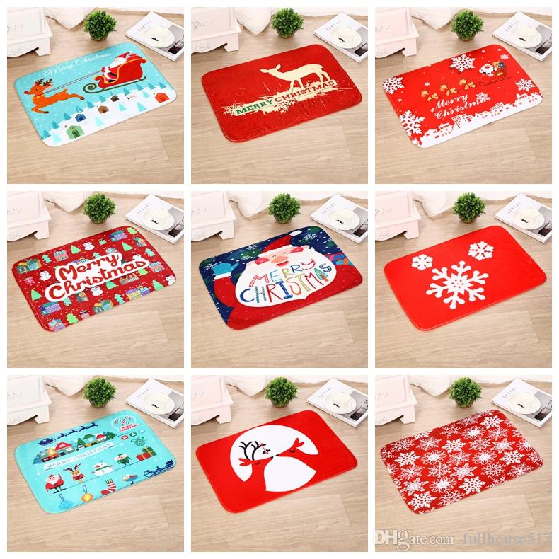 2018 merry christmas doormat welcome door bath mat rug indoor outdoor mats decor rug for home office bedroom from fullhouse517 392 dhgatecom