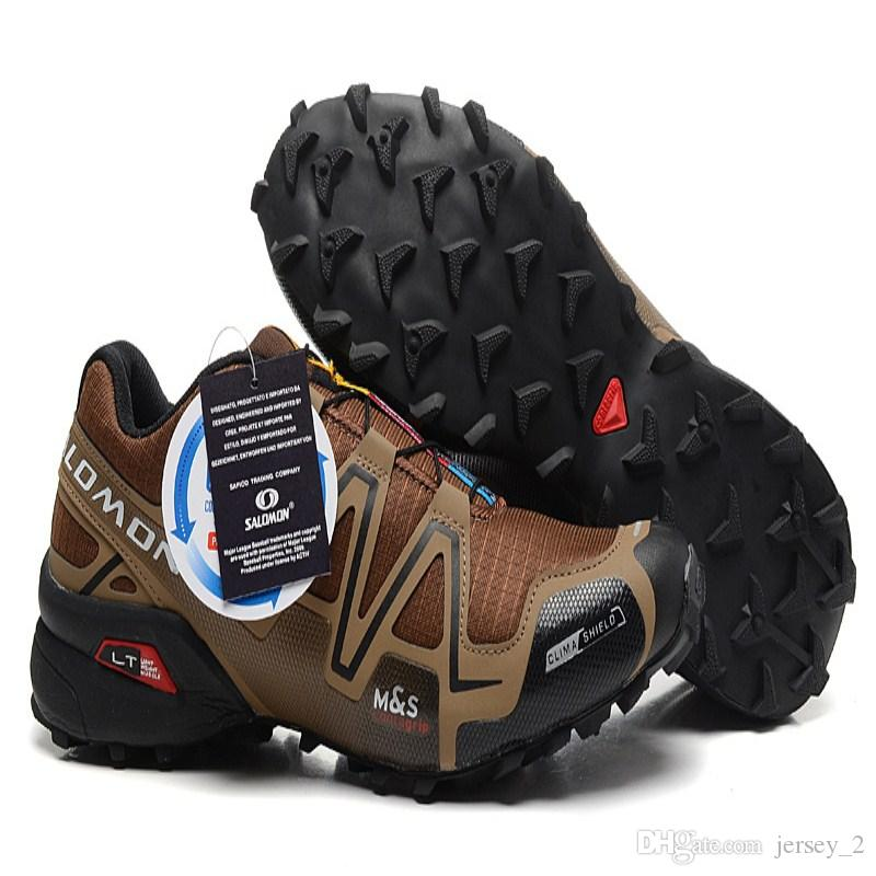 902a169a82d7 ... Solomon Speedcross 3 CS Coffee Black Outdoor Male Camo Sneakers Men  Speed Cross Speed 3 Running ...