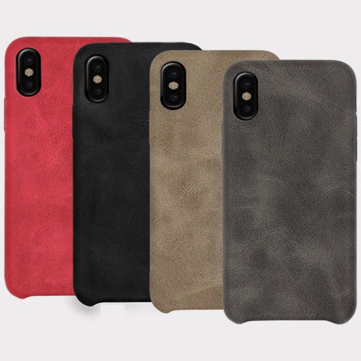 best loved 480b9 fc288 iPhone X Vintage Retro Style PU Leather Case Soft Back Cover Mobile Phone  Shell Cases For iPhone 6s 7 Plus 8 Plus 4 Color Free Shipping M02