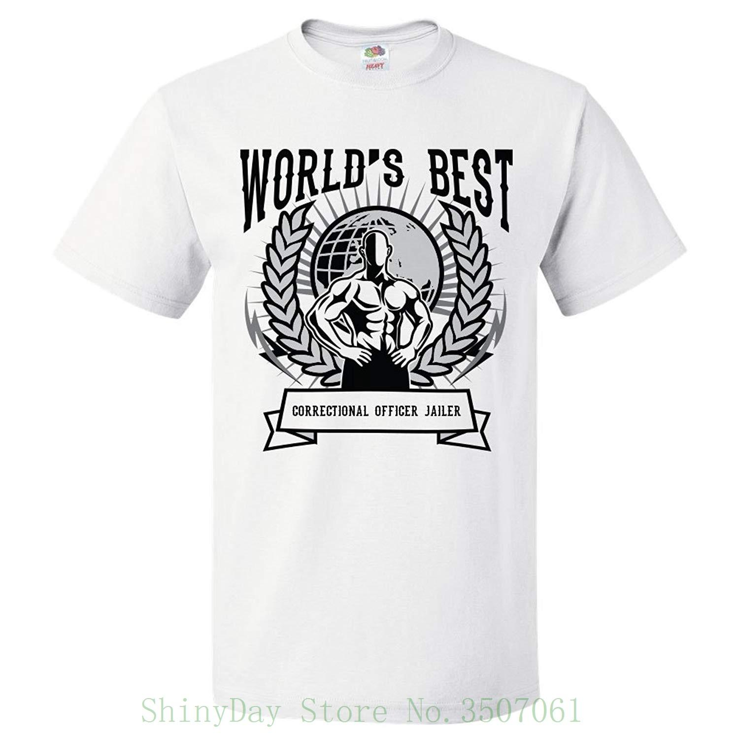935a10d5e World'S Best Correctional Officer Jailer T Shirt Gift For Correctional  Officer Jailer Shirt Colour Funny Printed Tee Shirt Online Shopping 24 Hour  Tee ...
