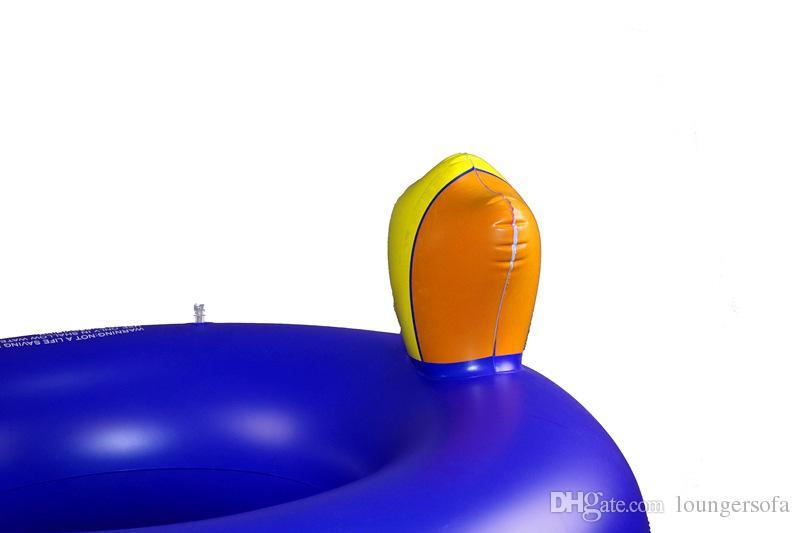 Надувной дятел поплавки плавающее сиденье плавающий плавать кольцо бассейн гигантский синий Лебедь Водные виды спорта Тукан монтирует игрушки для безопасности детей 28 5xr Z