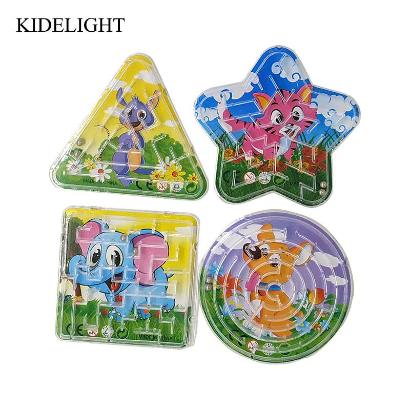 8CM Kids Birthday Party Favor Animal Puzzle Game Toy Baby Shower Girl Boy Return Gift Pinata Filler Supply Canada 2019 From Igarden001