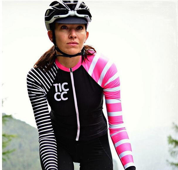 fc85af892 2018 MTB Spring Autumn Women Long Sleeve Cycling Jersey Clothing  Pro Team  Mountain Road Triathlon Wear Bicycle Shirt Bike Best Winter Cycling Jacket  Bike ...