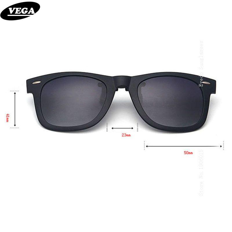 b094e40c41 VEGA Polarized Clip On Sunglasses Over Prescription Glasses With Box Fit  Over Glasses Sunglasses Flip Up Clips 5840 Fastrack Sunglasses Smith  Sunglasses ...