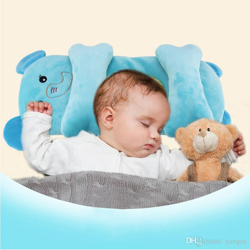 6f35c6da7aaa Newborn Baby Cute Cartoon Animal Head Stereotype Pillow Toddlers Baby Soft  Sleepping Pillow For Infant Baby 0 12 Month Accessories HY0155 Decorative  Throw ...