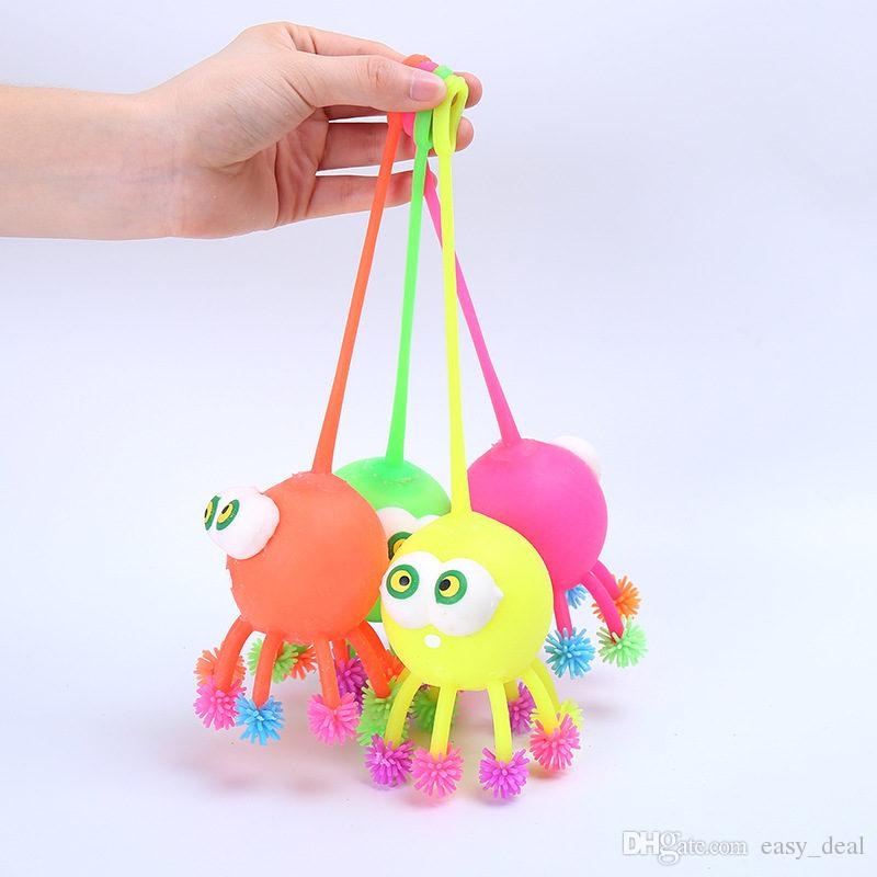 glowing light Stuff Octopus With Cute Cartoon Animal Plush Doll Early Kids vent flashing for party supplies F20172981