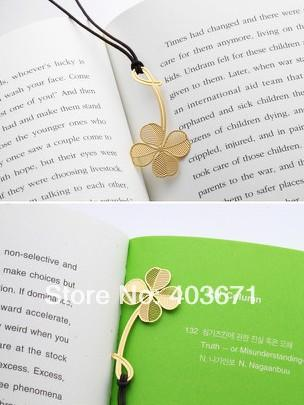 Wholesale-New Creative plant & leaf designs Metal Bookmark / Book marks /  Wholesale