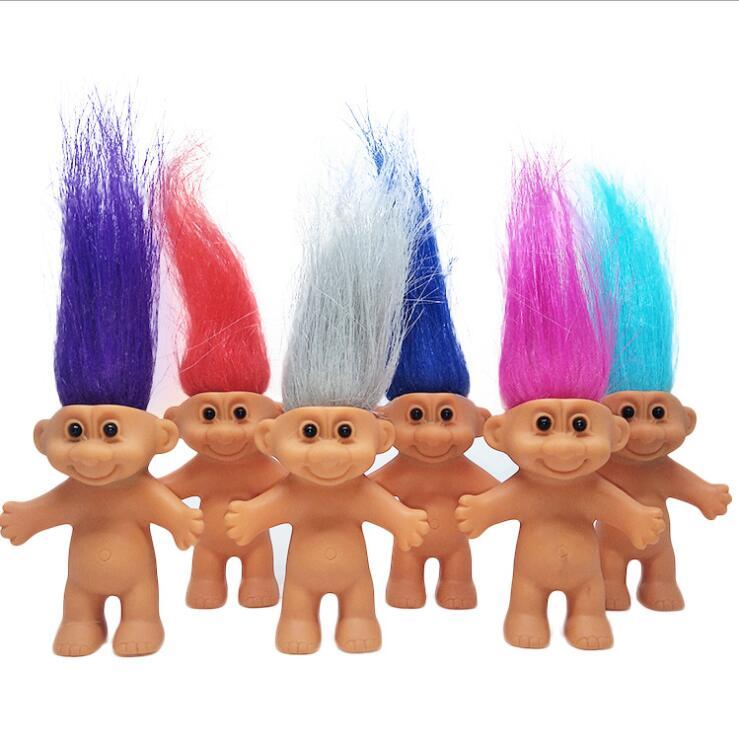 Trolls Christmas Special 2019 2019 8cm Troll Doll Action Figure Model Toy Christmas Gifts For