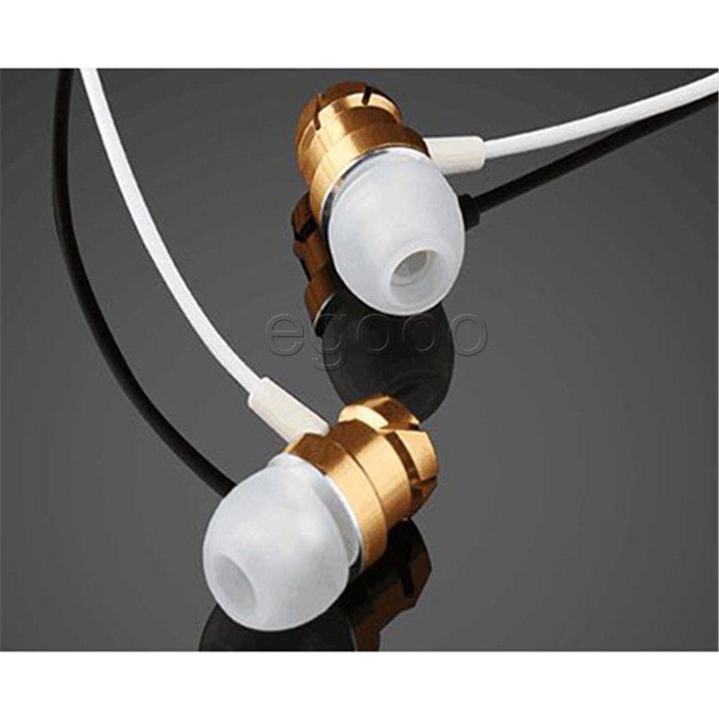 Auscultadores Super Bass Fone de ouvido Headset portátil Earbuds Esporte estéreo de ouvido com microfone para o telefone móvel