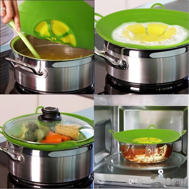 Hot Flower Petal Boil Tapón de Derrame de Silicona Tapa Tapa de La Tapa Tapas de Cocción de Utensilios de Cocina Piezas de Cocina Accesorios de Cocina