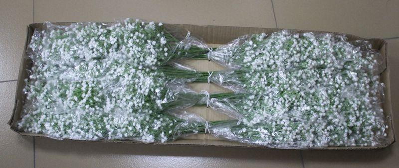 100 adet Yapay Bebek Nefes Çiçekler Yapay Gypsophila Sahte Ipek Çiçek Bitki Ev Düğün Ev Dekorasyon