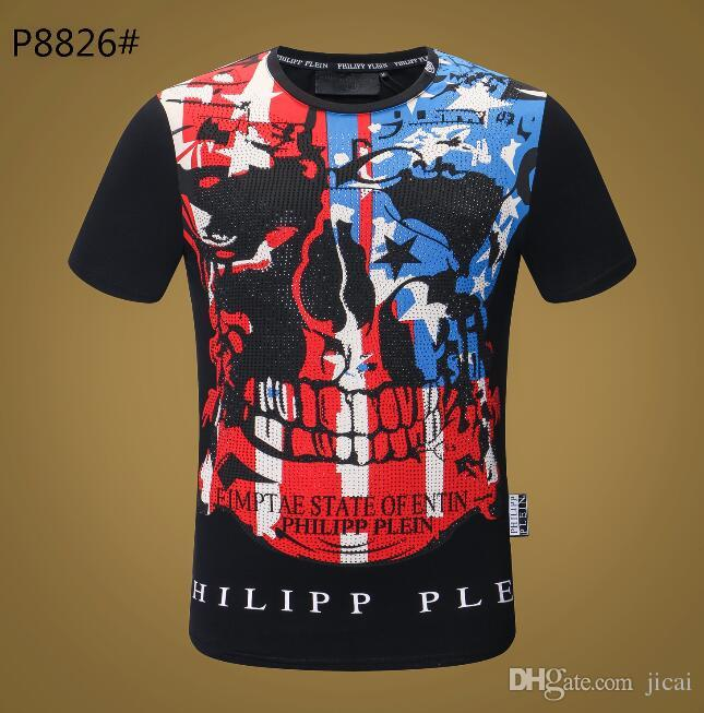 57b2ba6e3 2018 New Arrival Style of Brand Design Men's T-shirt Top Quality ...