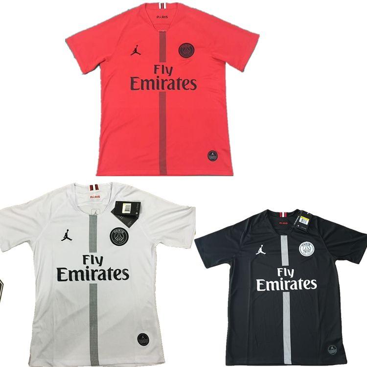 f29d15baa3e75 2019 2018 2019 New Psg Jersey 18 2019 Paris Sportswear Home Red White  Football Jersey CAVANI Football Shirt MBAPPE Maillot De Foot From Neymar88,  ...