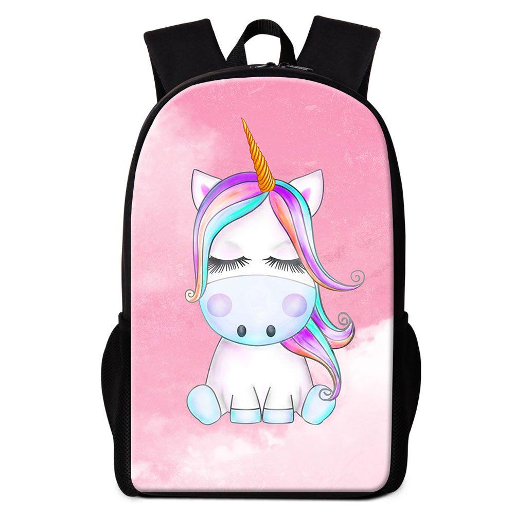 76165fe3054 Cartoon Animal Unicorn School Backpacks For Boy Girl Bookbag Custom Your  Own Design Schoolbags For Children Daily Bagpack Kids Rucksack Pack  Backpacker ...