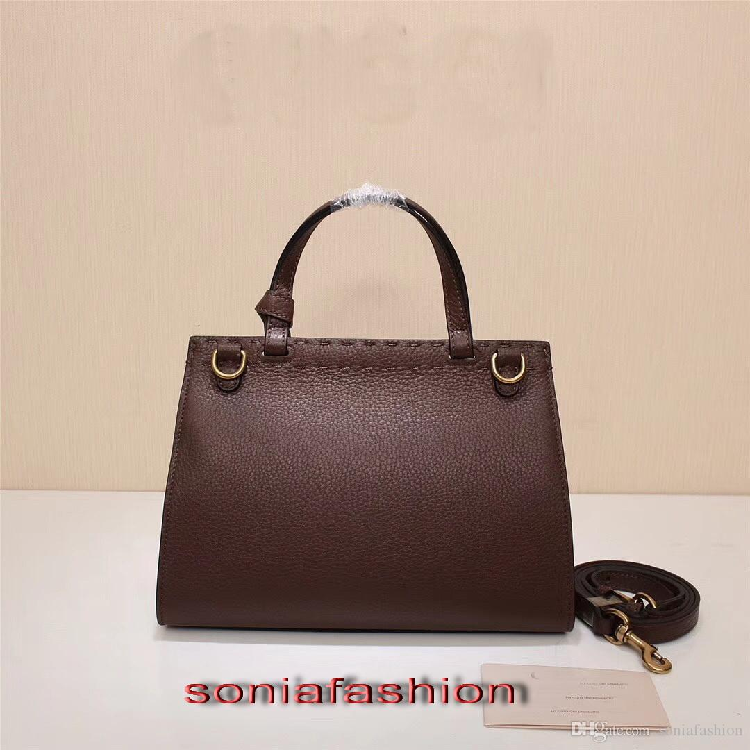 New style hot fashion women bag genuine leather designer handbag and should women bag with long strap