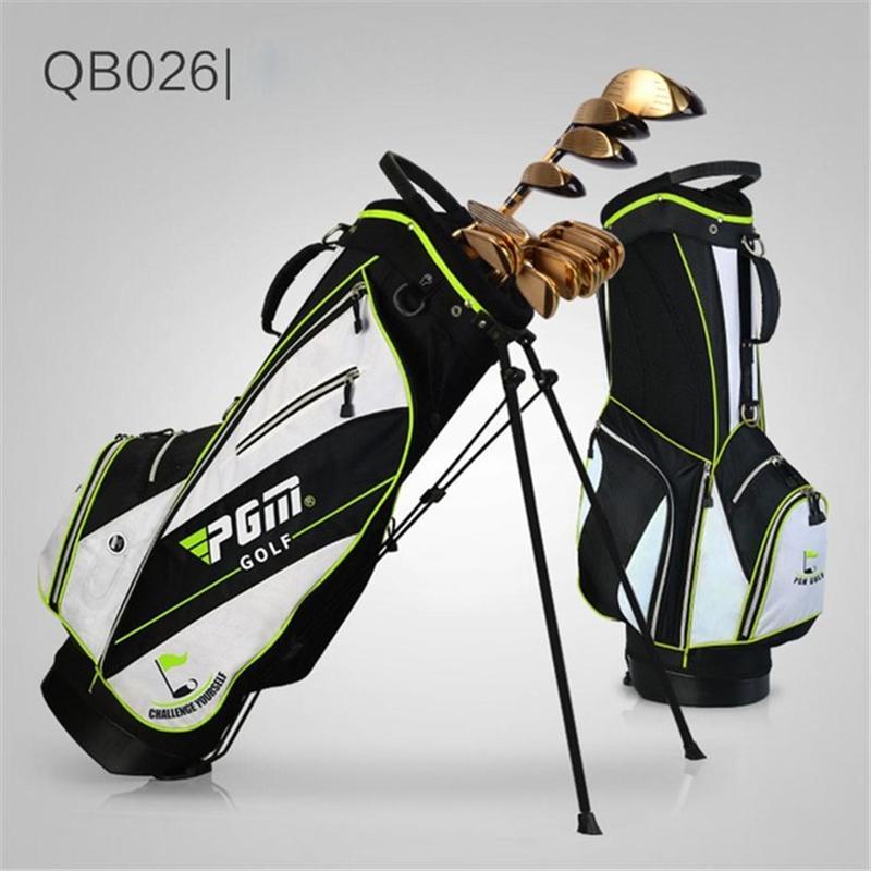 Pgm Golf Bag Waterproof Men Caddy Golf Cart Tripod Rack Stuff Bag ... c538fe26cc155