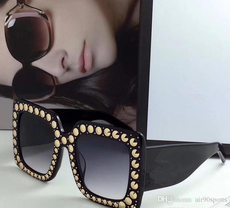 5ad1901663d New High Quality 0145S AAAAA+ Luxury Brand Designer Womens ...