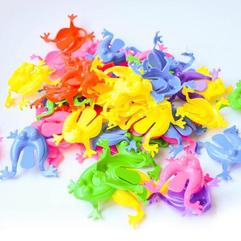 Renkli Atlama Kurbağa Oyunu Çocuk Parti Iyilik Doğum Günü Partisi Oyuncaklar Kız Erkek Çantası Dolgu için