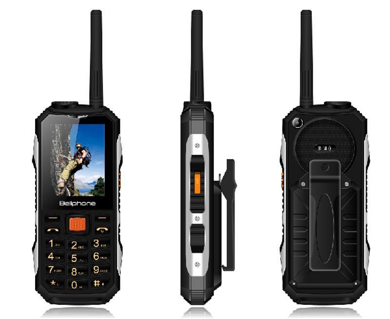 2018 جديد M2 2400mAh بطاقة SIM المزدوجة UHF يتحملها لاسلكي FM قوة البنك الهاتف المحمول وعرة للصدمات P156 المزدوج سيم بطاقة 2 الألوان