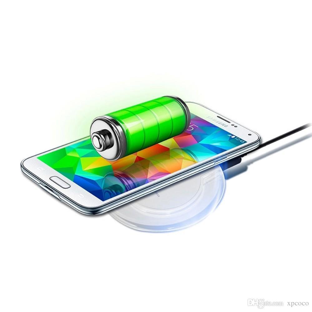 2017 новый qi беспроводное зарядное устройство быстрая зарядка для iPhone x и Samsung мобильный телефон 5V / 2000mAH 9V / 1600mAH