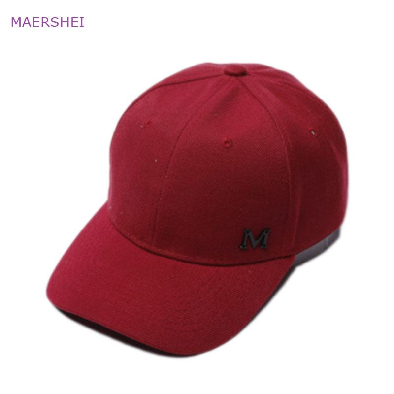 MAERSHEI Fashion Wild M Letter Letter Baseball Cap Ladies Summer Shade Sun  Protection Cap Youth Hat Big Hats Hat Stores From Frenky 6d04c1eb1b4