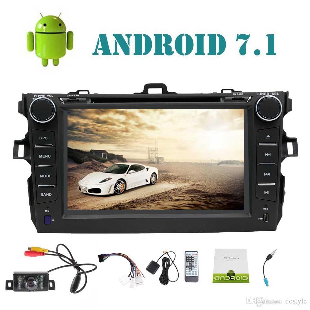 EINCAR Doble DIN Android 8.1 Quad Core en el Tablero de Built-in USB/SD Bluetooth Am FM RDS Radio GPS 3G 4G WiFi módem 7 Pulgadas HD Pantalla táctil capacitiva cámara del Coche Monitor traser Electrónica para coche