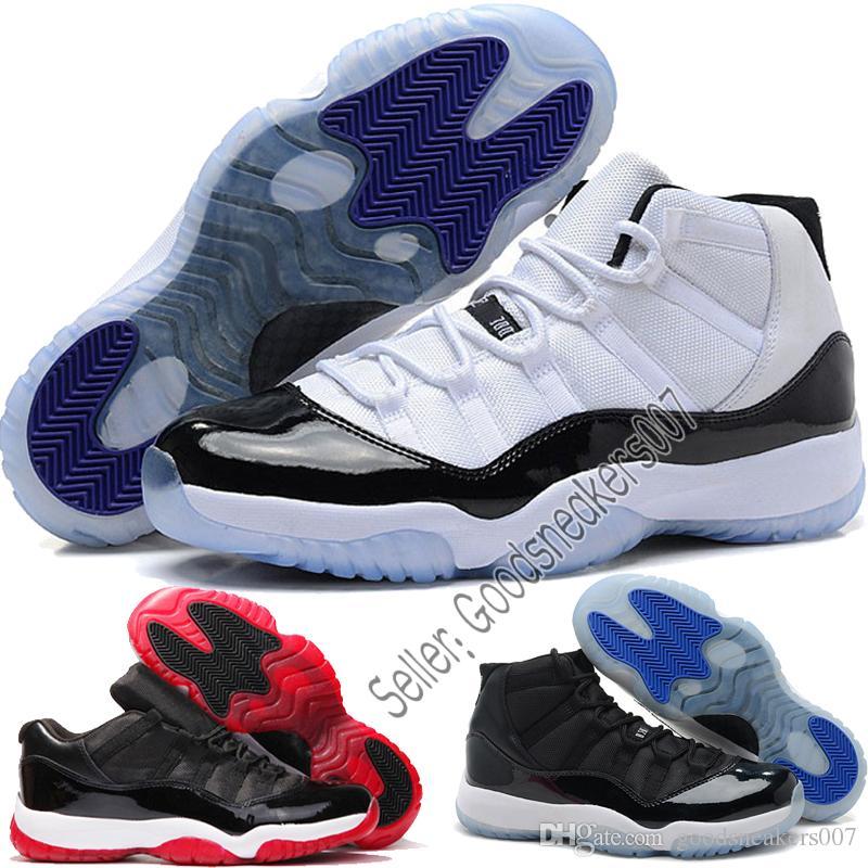 online retailer b1450 900ec 2018 Nike Air Jordan 11 XI Zapatillas De Baloncesto Hombres Mujer Space Jam  11s Bred Legend Blue Descuento 72 10 Gym Red Zapatos Deportivos Fahsion ...