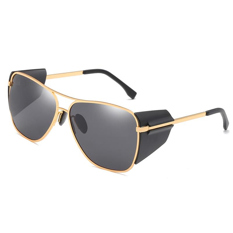 09ac552b9f46 Hot Sale Sunglasses Men Brand Designer Vintage Pilot Polarized Male Sun Glasses  Driving Coating Mirror Glasses Twin Beams Frame Police Sunglasses Serengeti  ...