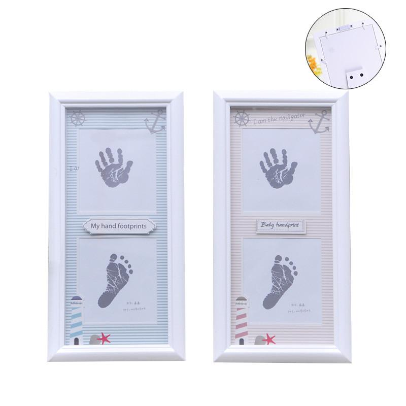 Baby Memorial Picture Frame Handprint Or Footprint Soft Beautiful