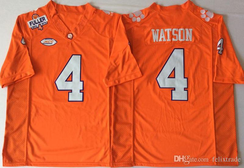 a33b1bb1598 2019 Clemson Tigers Orange 2 Kelly Bryant 4 Deshaun Watson Football Jerseys  Double Stiched IN STOCK From Felixtrade, $21.07 | DHgate.Com