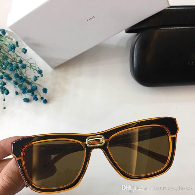 7e2ec9164e Small Pierre Sunglasses Gradient Cat Eye Luxury Women Designer ...