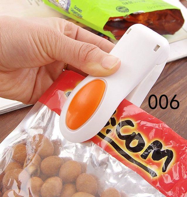 Bag Heat Sealer Portable Mini Heat Sealing Machine Impulse Sealer Seal Packing Plastic Bag Kit for Food Saver portable travel hand pressure