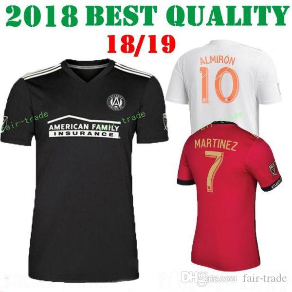 d59dd1bb46b FC MLS Atlanta United Jersey Men Soccer 10 ALMIRON 7 MARTINEZ 4 ...