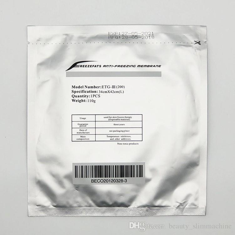 الصانع dircect بيع غشاء البرد التجمد / مكافحة تجميد الغشاء لحماية الجلد cryolipolysis membrance العناية بالبشرة قناع ce / dhl